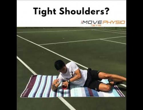 Shoulder Pain With Serving