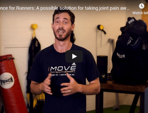 Cadence for Runners: A possible solution for taking joint pain away from running