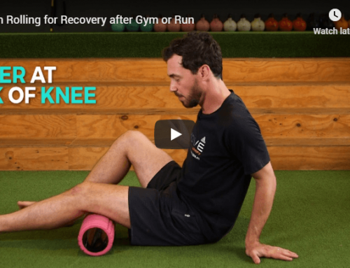 Foam Rolling for Recovery