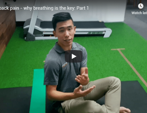 Mid back pain – why breathing is the key