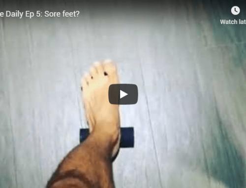 Plantar Fascia, Plantar Fasciitis or Sore Foot Relief