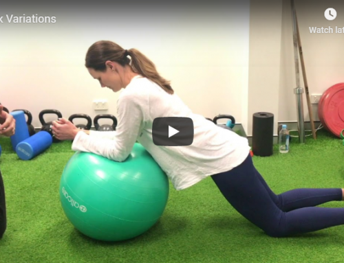 iMove Video Series – Pre and Post Natal Exercises