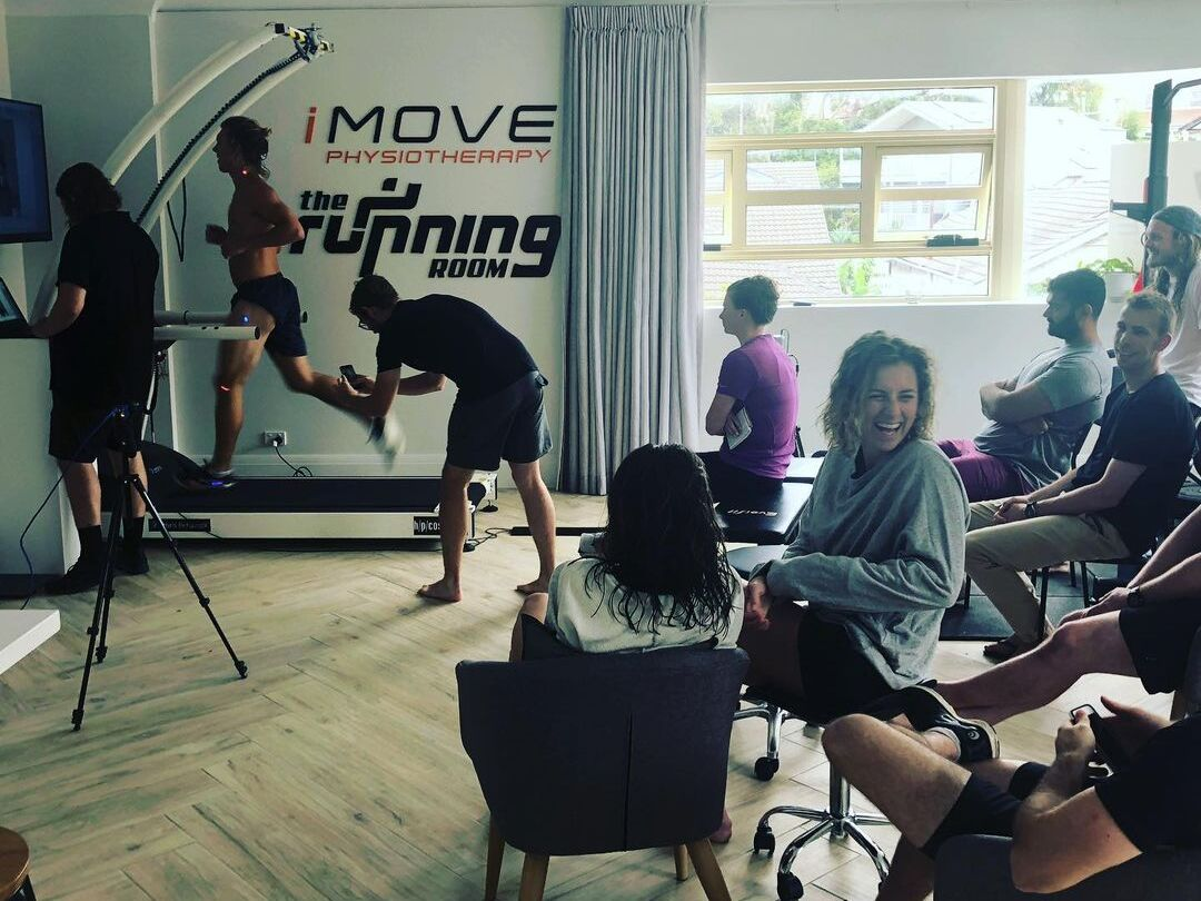 iMove and the Running Room